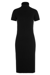 Michael Kors Cashmere Turtleneck Sweater Dress Black