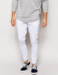 Asos Super Skinny Trousers White