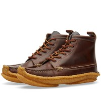 Yuketen 6 Eye Hunt Boot Brown