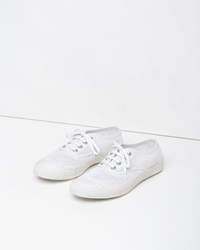 Comme Des Garcons Crocheted Sneaker White