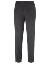 John Lewis Men Pin Point Trousers Grey