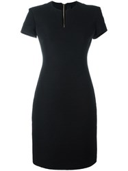 Gareth Pugh Classic Boat Neck Dress Black