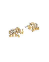 Kate Spade Things We Love Elephant Stud Earrings Gold