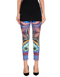 Mariuccia Trousers Leggings Women Bright Blue
