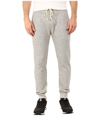 Alternative Apparel Organic Light French Terry Slim Pants Heather Grey Men's Casual Pants Gray