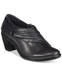 Easy Street Shoes Northern Shooties Women's Black Croc