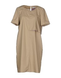 Max And Co. Dresses Short Dresses Women Khaki