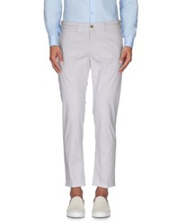 Re Hash Trousers Casual Trousers Men White