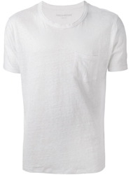 Zadig And Voltaire Printed Back T Shirt