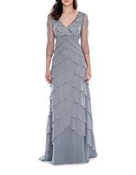 Decode 1.8 Artichoke Layered Gown Grey