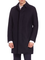 Sanyo Maxwell Water Repellent Wool Coat Midnight