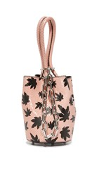 Alexander Wang Mini Roxy Bucket Bag Cameo Pink