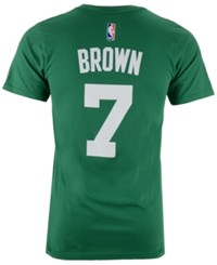 Adidas Men's Jaylen Brown Boston Celtics Player T Shirt Green
