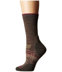 Smartwool Phd Outdoor Light Crew Taupe Women's Crew Cut Socks Shoes