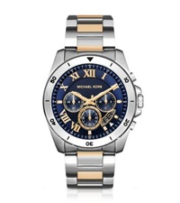 Michael Kors Brecken Two Tone Stainless Steel Watch Two Tone