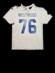 Byronesque Westwood 76 Vintage T Shirt White