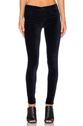 James Jeans Twiggy Velveteen Navy