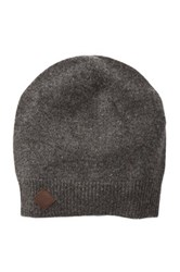 Cole Haan Wool And Cashmere Blend Beanie Gray
