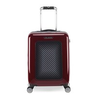 Ted Baker Burgundy Graphite Suitcase Small