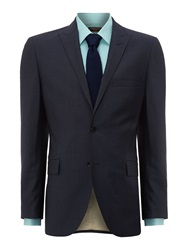 Corsivo Chisone End On End Suit Jacket Blue