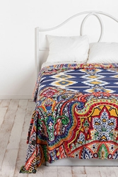 Geo Paisley Tapestry Throw At Urban Outfitters
