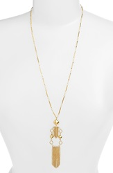 Rachel Zoe Pendant Necklace Gold