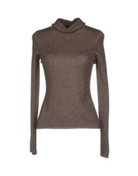 Ballantyne Turtlenecks Dark Brown