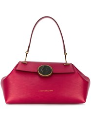 Benedetta Bruzziches 'Clara' Doctor Bag Pink And Purple