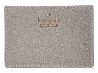 Kate Spade Burgess Court Card Holder Graphite Credit Card Wallet Gray