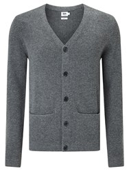 John Lewis Kin By Felted Chunky Cardigan Charcoal