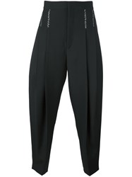 Haider Ackermann Pleated Tapered Trousers Black