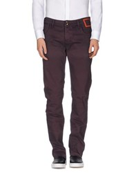 Camouflage Ar And J. Trousers Casual Trousers Men Deep Purple