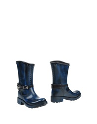 Barracuda Ankle Boots Azure