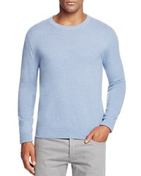 Bloomingdale's The Men's Store At Cashmere Crewneck Sweater Light Blue