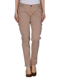 Scee By Twin Set Casual Pants Light Brown