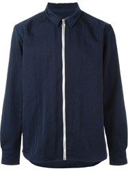 Soulland 'David' Light Jacket Blue