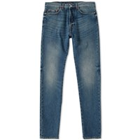 Valentino Washed Slim Jean Blue