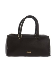 Cuple Handbags Dark Brown