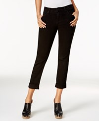 Kut From The Kloth Catherine Cropped Boyfriend Jeans Black