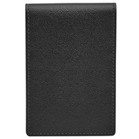 Reiss Starter Leather Fold Wallet Black