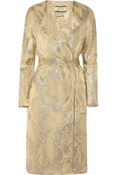 By Malene Birger Antea Metallic Jacquard Coat