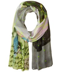 Liebeskind Neon Scarf Flashing Yellow Neon Scarves Multi