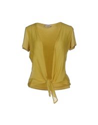 Just For You Cardigans Yellow