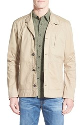 Men's Nau 'Introvert' Slim Fit Jacket Khaki