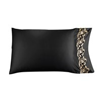 La Perla Icona Pillowcase 50X75cm Black And Sand