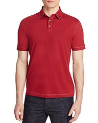 James Campbell Chevron Stripe Classic Fit Polo Shirt Compare At 88 Red