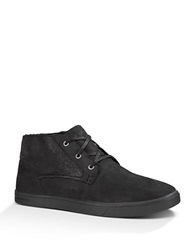 Ugg Kramer Washed Capra Sheepskin Chukkas Black