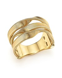 Marco Bicego 18K Yellow Gold Marrakech Supreme Three Strand Twisted Ring