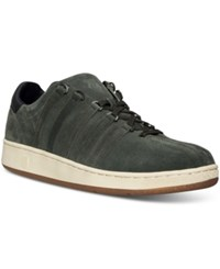 K Swiss Men's Classic 96 Suede P Casual Sneakers From Finish Line Forest Night Black Cloud