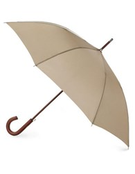 Totes Stately Auto Umbrella Taupe